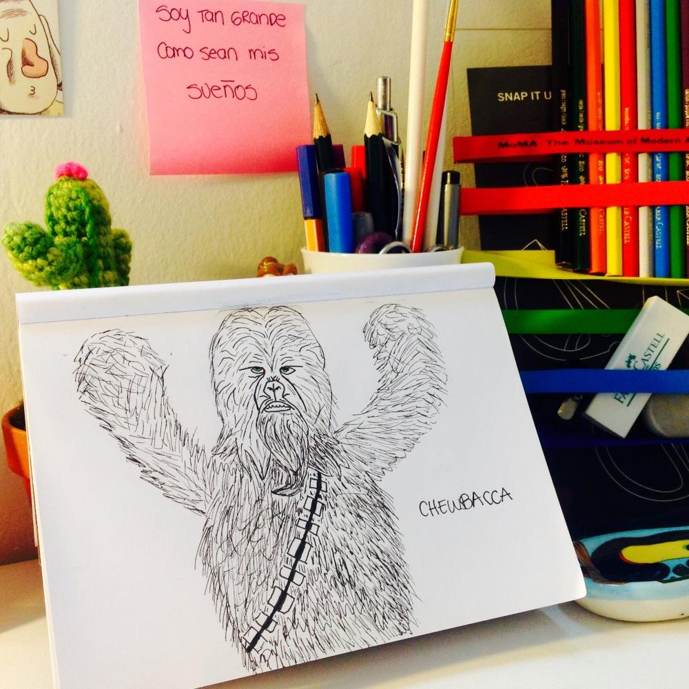 Día 1. Chewbacca.
