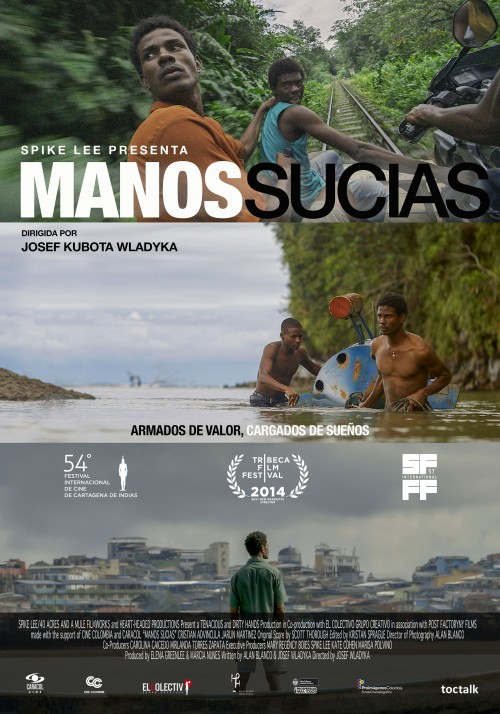 MANOS SUCIAS POSTER WEB